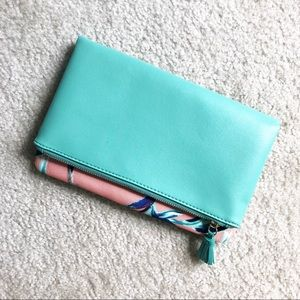 Rachel Pally Reversible Clutch - Paradise (NWOT)